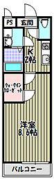 フジパレス堺鳳中III番館[3階]の間取り