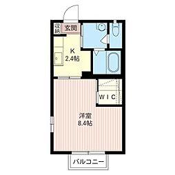 エテルノ・コートII[1階]の間取り
