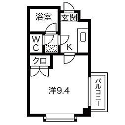 シティライフ藤ヶ丘南1号館[4階]の間取り