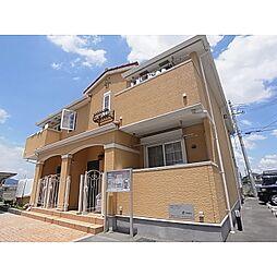 奈良県大和高田市曽大根の賃貸アパートの外観