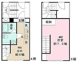 GRACIA  MINOWA[4階]の間取り