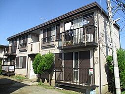 東京都立川市栄町2丁目の賃貸アパートの外観