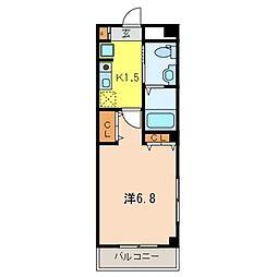 エクセドラ上福岡[1階]の間取り