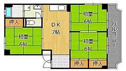 大窄ビル[3階]の間取り