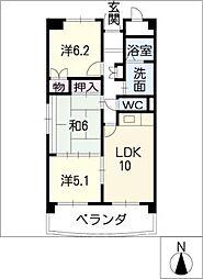 apprecier[2階]の間取り