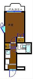 神奈川県横浜市金沢区富岡東1丁目の賃貸マンションの間取り