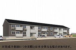 仮)D-room朽網東II[2階]の外観