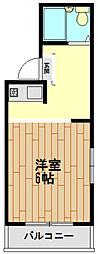 兵庫県神戸市兵庫区菊水町9丁目の賃貸マンションの間取り