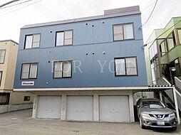 北海道札幌市北区麻生町7丁目の賃貸アパートの外観