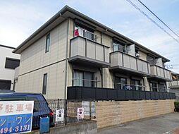 兵庫県尼崎市東園田町6の賃貸アパートの外観