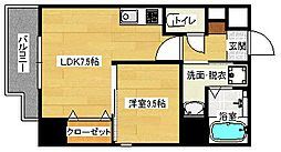 KatayamaBLDG22[501号室]の間取り