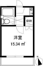 スリージェ桜ヶ丘I2階Fの間取り画像