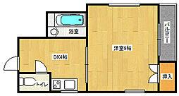 カンティオン[3階]の間取り