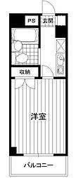 神奈川県相模原市中央区横山台1丁目の賃貸アパートの間取り