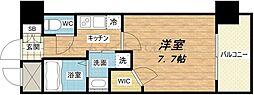 クラウンハイム北心斎橋フラワーコート[8階]の間取り
