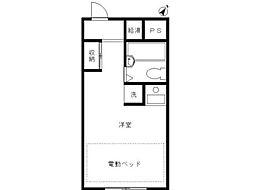 スカイコート高円寺[1階]の間取り