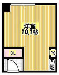アーバンデザイン北千里[2階]の間取り