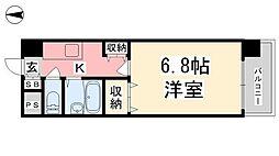 ジョイフル第3小坂[505号室]の間取り