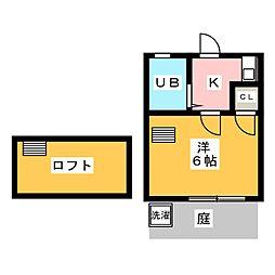 GAIA小幡[1階]の間取り