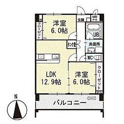 ASKBLD 3階[302号室]の間取り