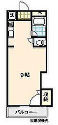 アドバンス2[202号室]の間取り
