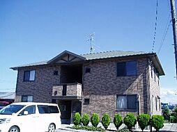 福岡県遠賀郡水巻町吉田西1丁目の賃貸アパートの外観