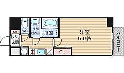 ファステート大阪ドームシティ[1402号室]の間取り