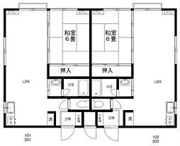 メゾンプラティーク[2階]の間取り