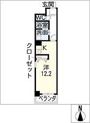 名駅キクイビル[3階]の間取り