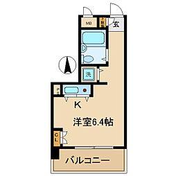 ジョイフル出屋敷II[1階]の間取り