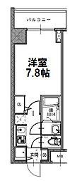 サムティ江坂レガーロ[406号室]の間取り