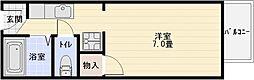 フレグランスM[1階]の間取り
