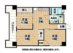 木藤ビル[3階]の間取り