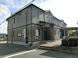 愛知県あま市中萱津の賃貸アパートの外観