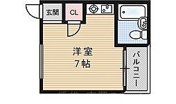 暁マンション[1階]の間取り