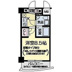 セレニテ甲子園I[0709号室]の間取り