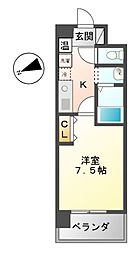 エーエスレジデンス千代田(AS[2階]の間取り