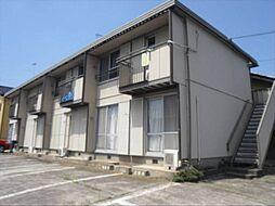 茨城県古河市長谷町の賃貸アパートの外観