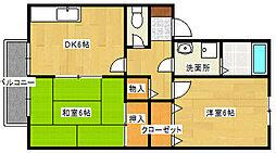 セジュールSAITOH[2階]の間取り