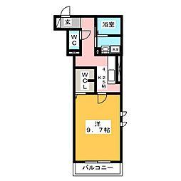 ライム ライト 岐阜[2階]の間取り