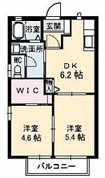 姫山フィルハーモニー コンセルトヘボウ[F101号室]の間取り