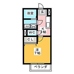 ALLEIN[2階]の間取り