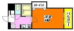 サツキ・マンション 311号室[3階]の間取り
