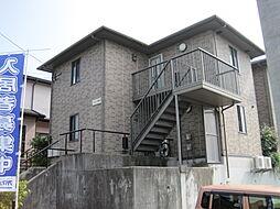 長崎県諫早市久山台の賃貸アパートの外観