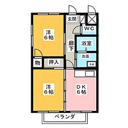 NOVA PLUS 1[2階]の間取り