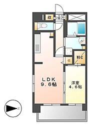 シェソワ東桜[9階]の間取り
