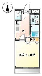 スプレンドーレ・青江[1階]の間取り