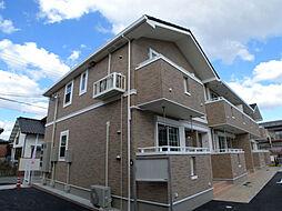 兵庫県姫路市香寺町中屋の賃貸アパートの外観