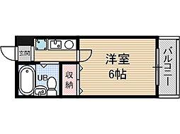 元町壱番館[6階]の間取り