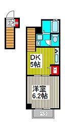 フォレスト・パル[2階]の間取り